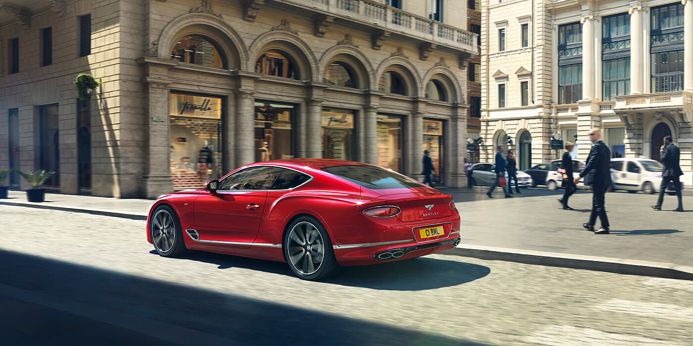 BENTLEY-CONTINENTAL-GT-V8-DRIVING-BY-CITY-SQUARE